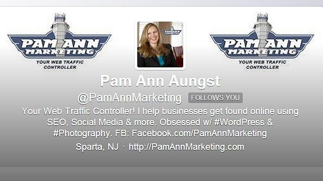 Twitter Success Story - Pam Ann Marketing